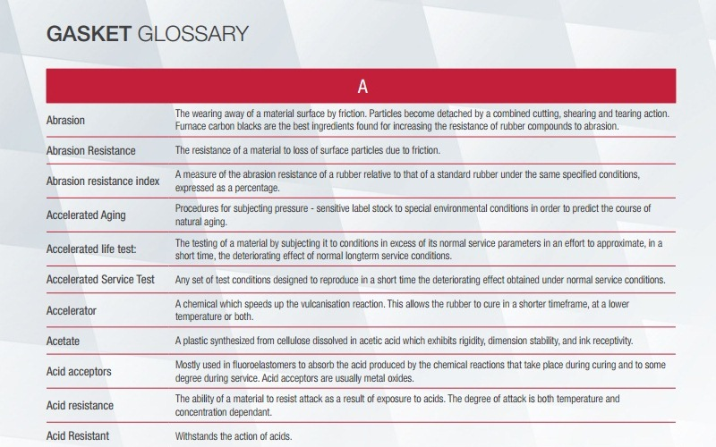 Phelps Glossary | Phelps Industrial Products