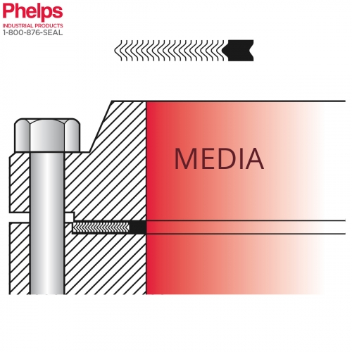 Phelps Style 9011 - Spiral Wound with Inner Ring for LMF