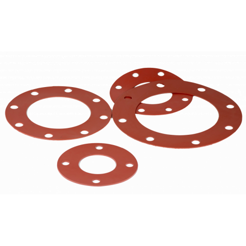 Phelps Style 7240 - Full Face Gaskets using Red Rubber ASTM D 1330.85 Grade 1